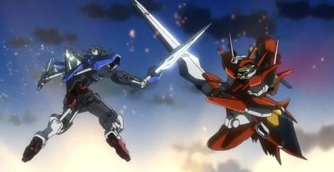 Gundam 00 battle